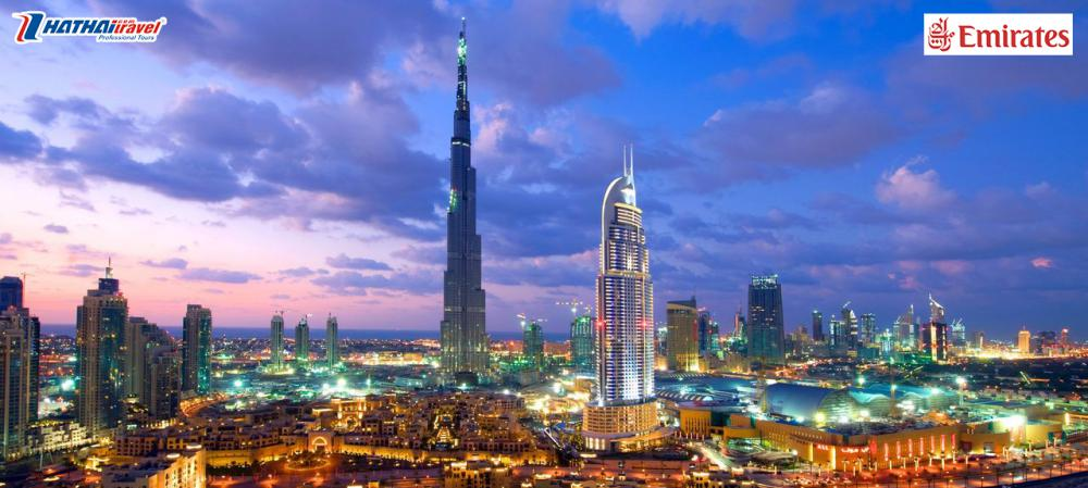 HÀ NỘI - DUBAI - ABU DHABI - HÀ NỘI (6N5Đ Bay Emirates Khởi Hành 7/2 Tối Mùng 3 Tết Âm Lịch )