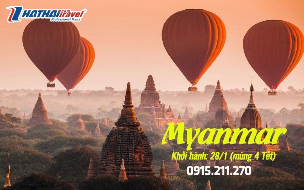 DU LỊCH MYANMAR 4N3Đ - ĐÓN TẾT NGUYÊN ĐÁN 2020