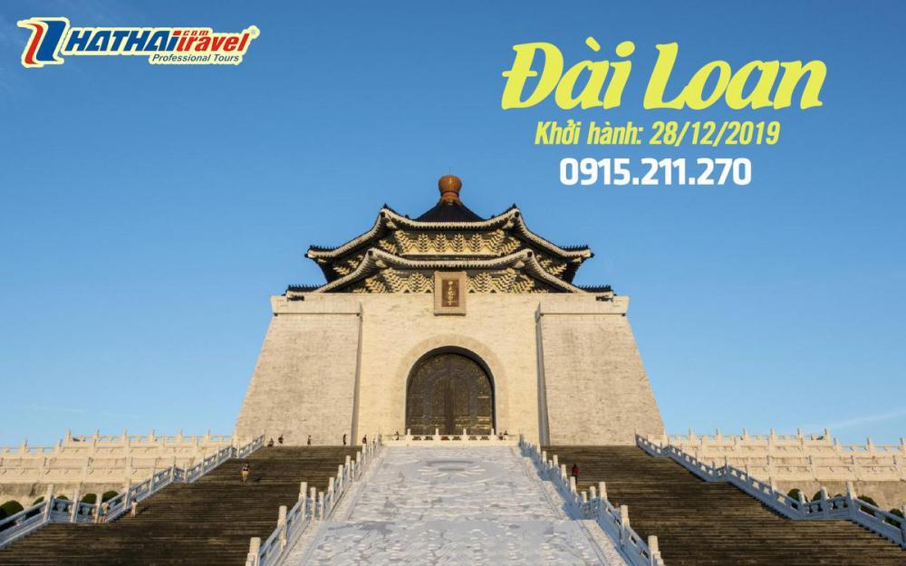 DU LỊCH ĐÀI LOAN 5N4Đ - tour Tết Dương Lịch 2020
