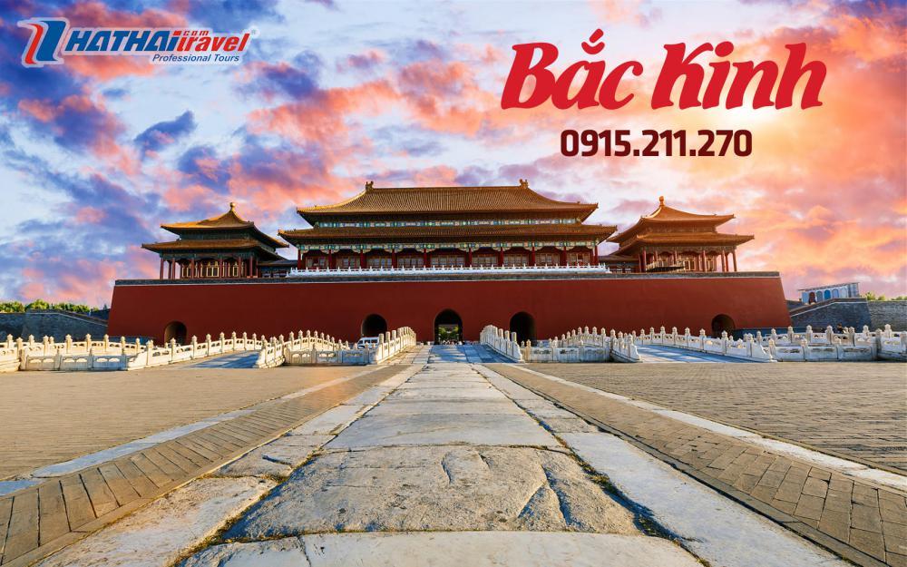 Bắc Kinh: Vạn Lý Trường Thành-  Tử Cấm Thành – Di Hòa Viên – Thiên Đàn