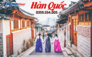 Hàn Quốc: Seoul – Lotte World - Trượt Tuyết 5N