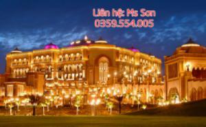 DUBAI - ABU DHABI - SA MẠC SAFARI 6N bay hàng không 5 sao Emirates Airlines