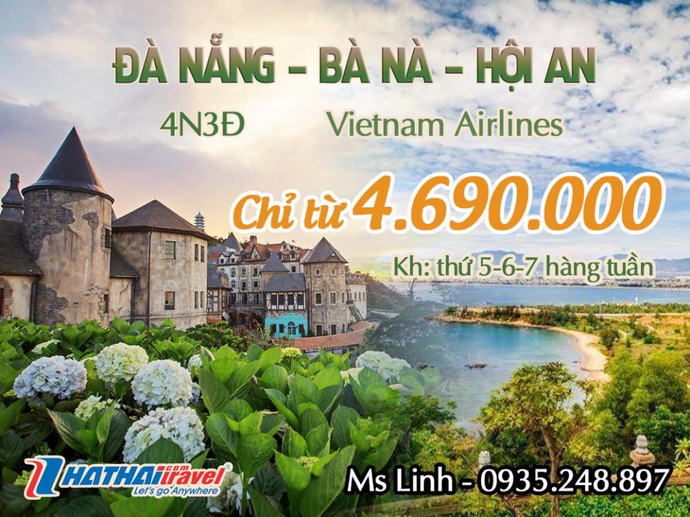 ĐÀ NẴNG – BÀ NÀ – HỘI AN 4n3đ bay Vietnam Airlines