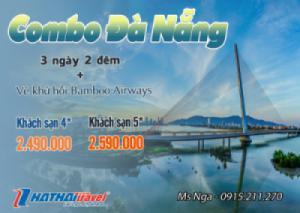 Combo Đà Nẵng + vé khứ hồi Bamboo Airways 3N2Đ