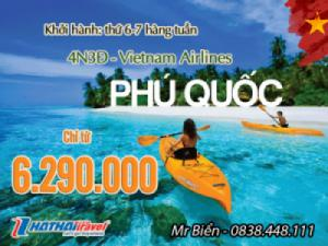 ĐẢO NGỌC PHÚ QUỐC 4N3Đ Bay Vietnam Airlines