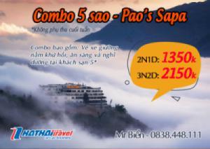 Nghỉ dưỡng khách sạn 5*: Pao's Sapa Leisure