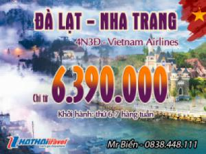 ĐÀ LẠT – NHA TRANG 5n4đ Bay Vietnam Airlines