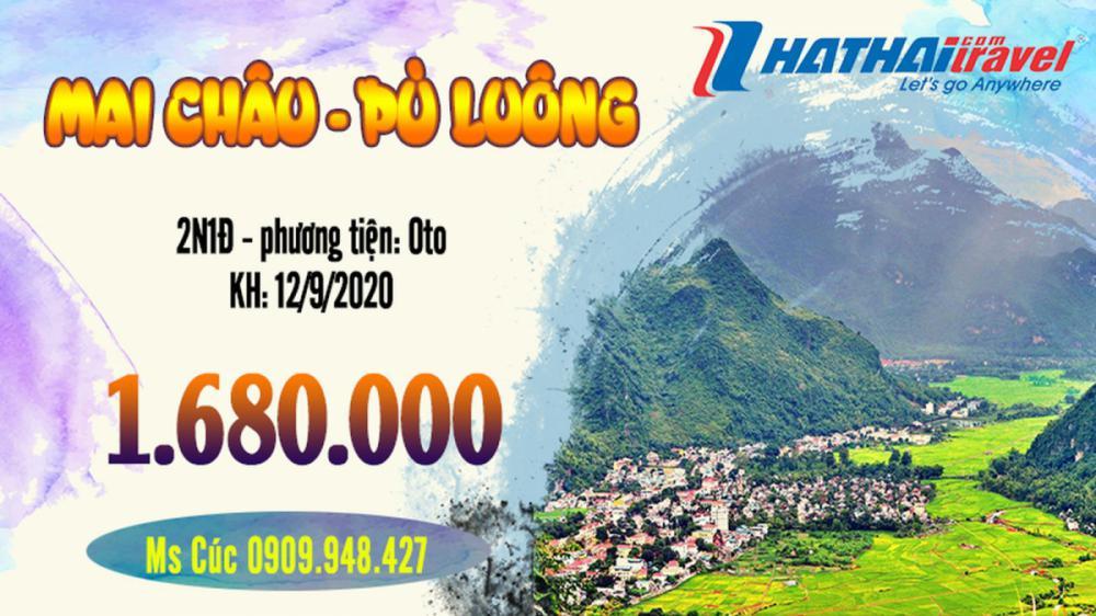 Hà Nội - Mai Châu - Pù Luông 2N1Đ Oto
