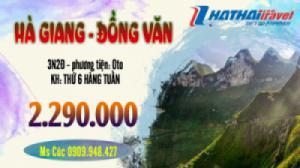 Hà Nội - Hà Giang - Đồng Văn, 3N, ÔTô