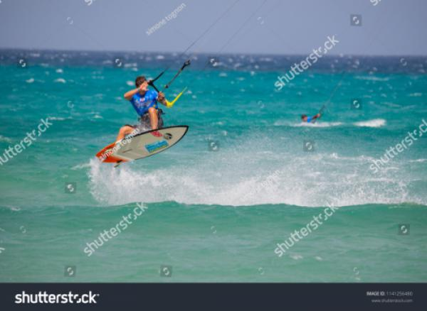 stock-photo--fuerteventura-world-cup-gka-kitesurf-strapless-freestyle-playa-sotavento-1141256480