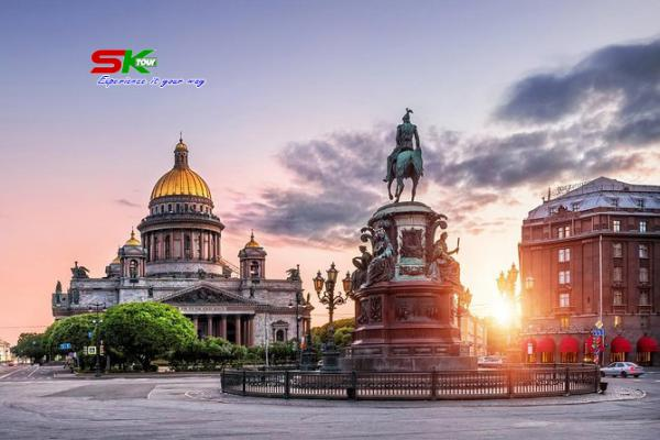 VÀNH ĐAI VÀNG NƯỚC NGA MOSCOW – VLADIMIR – SUZDAL – SAINT PETERSBURG